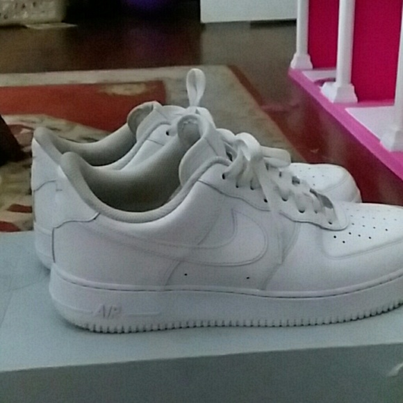 air force ones low top (All White)