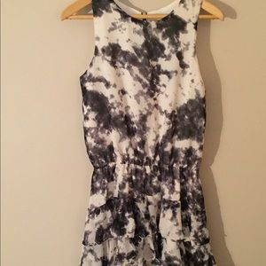 Necessary Objects Dresses & Skirts - NWT Necessary Objects Tie Dye Ruffle Dress