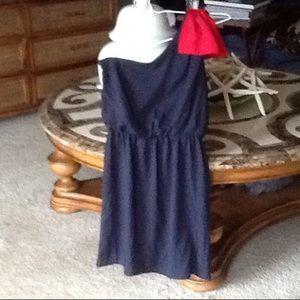 Dresses & Skirts - FINAL SALE Boutique style one shoulder dress NWOT