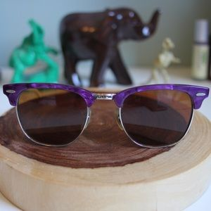 Ray-Ban Accessories - Purple/White Ray-Bans