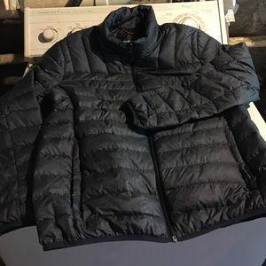 Hawke & Co Jackets & Blazers - Blue light puffer jacket