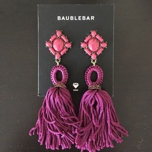 baublebar Jewelry - Baublebar tassel earrings