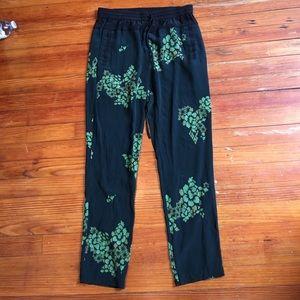 A.L.C. Pants - A.L.C.  Silk beautiful loose pants with drawstring