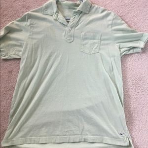 Vineyard Vines Other - Light green/ white striped Vineyard Vines polo
