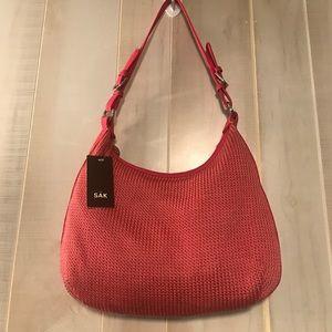 The Sak Handbags - The Sak Modern Classics Hobo in Azalea aka Poppy