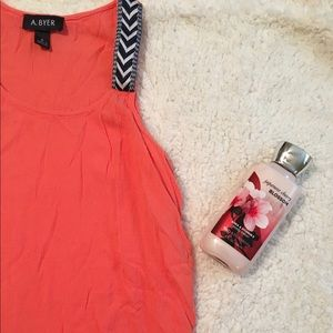 Amy Byer Tops - Coral Tank