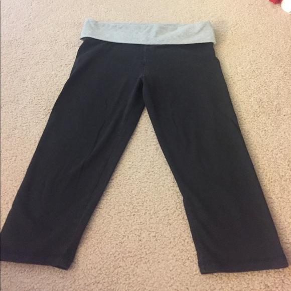 Yoga pants with side cutouts-6695