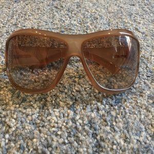 Gucci Accessories - Gucci tan sunglasses