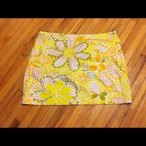 J. Crew Factory Dresses & Skirts - J. Crew Factory abstract retro floral skirt 14