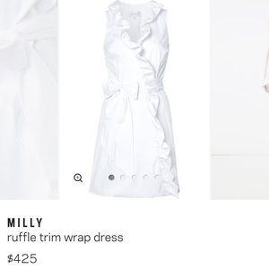 6ba831b69b Milly Dresses - Milly wrap dress -