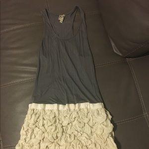 Short haute hippie dress