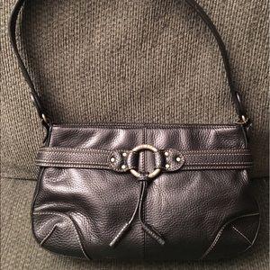 The Sak Handbags - The Sak Black Leather Hobo Handbag Purse