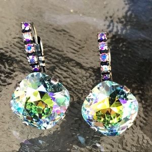 Jewelry - Handcrafted earrings with Swarovski crystal #246