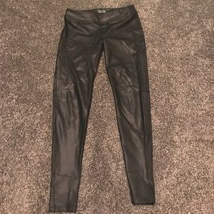 "Albion Pants - Albion stretchy ""leather look"" leggings"