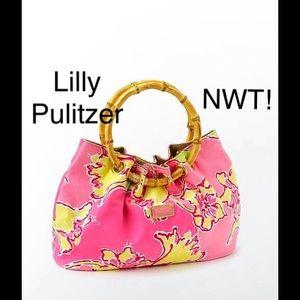 Lilly Pulitzer bamboo pink purse dress to impress