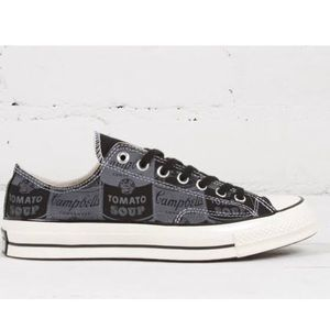 Converse Shoes - Converse Campbell's soup Andy Warhol size 6 shoes