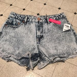 refuge Pants - Charlotte Russe denim shorts size 6 new with tags