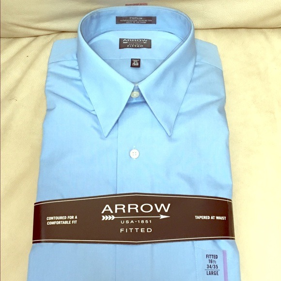 50 off arrow other new arrow fitted button down for Wrinkle free button down shirts