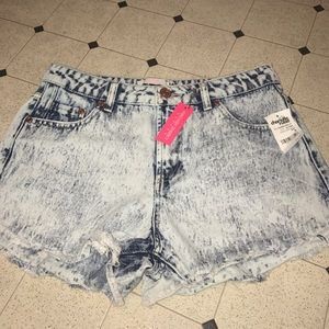 refuge Pants - Charlotte Russe denim shorts size 4 new with tags