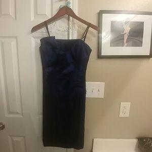 Betsy & Adam Dresses & Skirts - Betsy & Adam Strapless blue cocktail dress