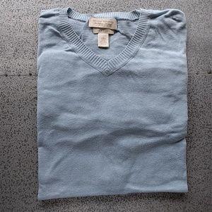 Light blue Banana Republic V-neck sweater