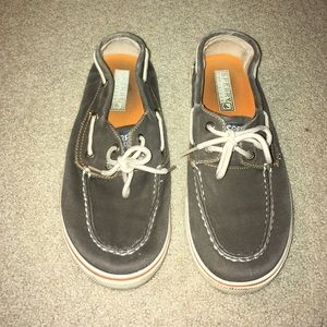 Sperry Halyard boat shoes kids size 5