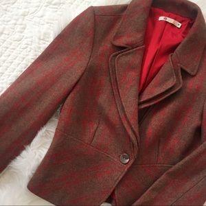 ModCloth Jackets & Blazers - Tulle Plaid Jacket / Blazer