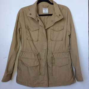 Price Drop❤️Old Navy Khaki Utility Jacket