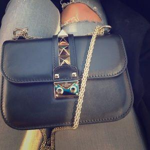 Valentino Garavani Handbags - Authentic small Valentino glam lock bag