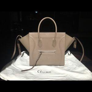 Celine Handbags - Hardly used Large Celine Phantom Luggage bag!