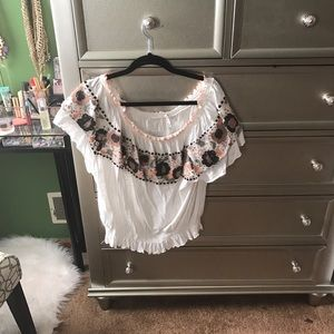 Free People Tops - Free People Sienna Off the Shoulder Top
