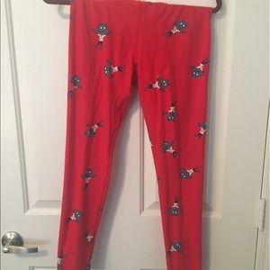 LuLaRoe Pants - Walking Dead zombie leggings OS