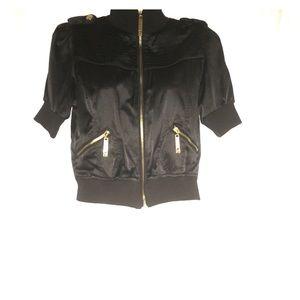Urban Vibe Jackets & Blazers - Black satin like jacket