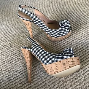 Guess Shoes - Guess Plaid Pin Up heels
