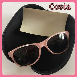 Costa  Accessories - Costa Polarized Coral Pink Prop PR 44 Sunglasses