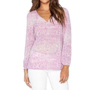 Sanctuary Tops - Sanctuary NWT Ombré Chiffon Top!pink Purple White