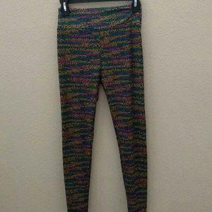 LuLaRoe Pants - Lularoe One Size Leggings