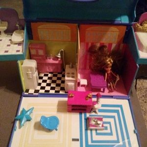 Other - Lil bratz house tiny dollhouse and doll