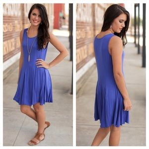 Infinity Raine Dresses & Skirts - 🌷Only 2 Left 🌷 Cobalt Knit Dress
