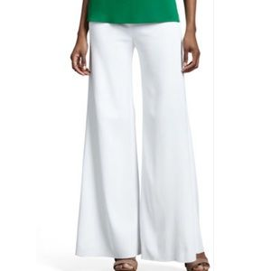 Misook Pants - MISOOK NEW WHITE PALAZZO PANTS 2X