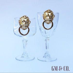 Avon Jewelry - 🌹🆕Vintage Lions Head Door Knocker Earrings🌹