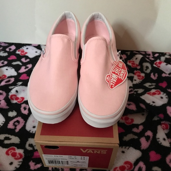 33685558d048d8 Ballerina Pink Slip-On Vans