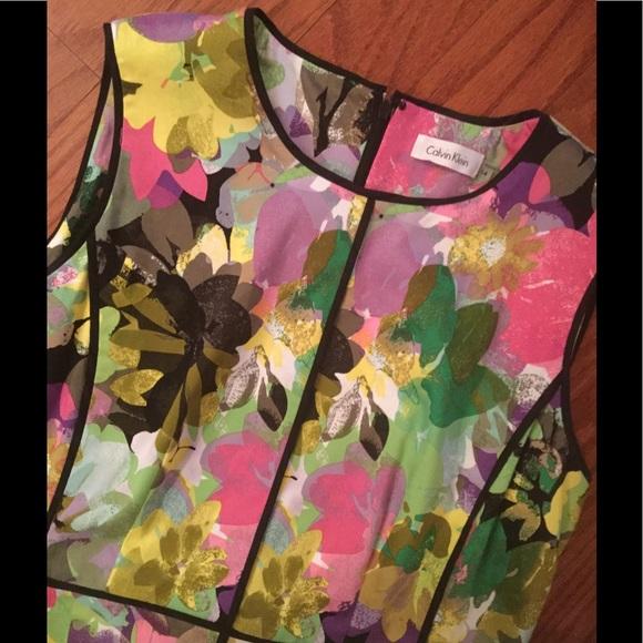 Calvin Klein Dresses & Skirts - 💕Calvin Klein Floral Dress💕