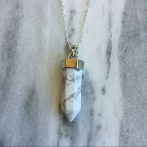 Simple Sanctuary Jewelry - White Howlite Necklace