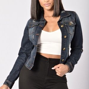 Fashion Nova Jackets & Blazers - Jean jacket