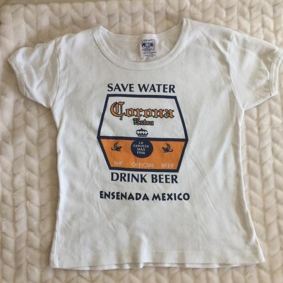 Corona Save Water Drink Beer Shirt