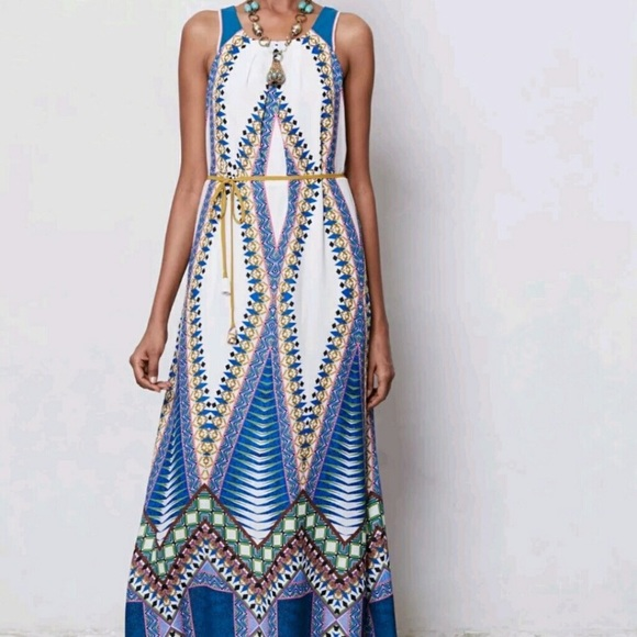 29 off anthropologie dresses skirts anthropologie for Anthropologie mural maxi dress