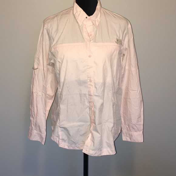 75 off columbia tops weekend sale columbia button down for Button down fishing shirts