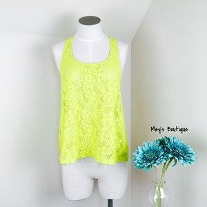 Tops - ⭐️SO Vintage Gorgeous Bright Yellow Tank⭐️
