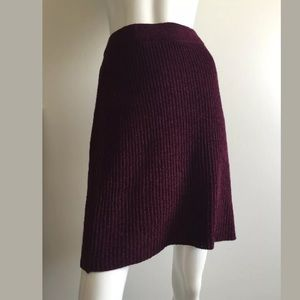 Sonia Rykiel Dresses & Skirts - Sonia Rykiel Dark Purple Mini Skirt